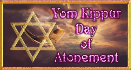 Yom Kippur Day of Atonement - Mosaic Law